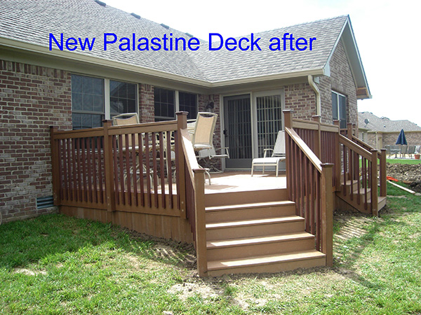 New Palastine Deck After